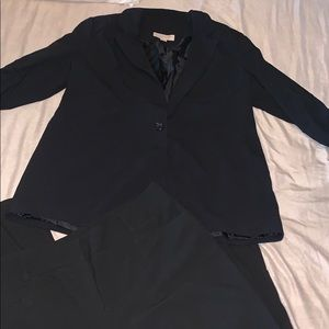 Michael Kors Black Blazer work Suit and Pants 16